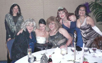 Miss Vera's Table At Night Of A Thousand Gowns